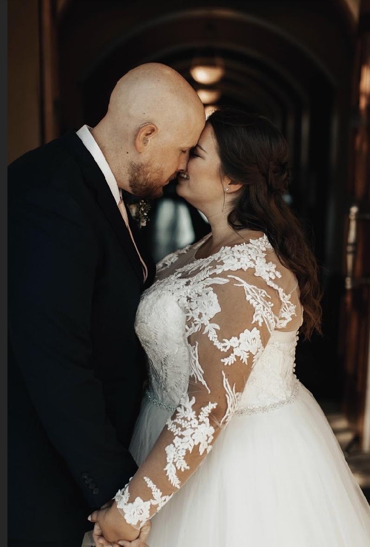 Ashlee's Long Sleeve Wedding Dress