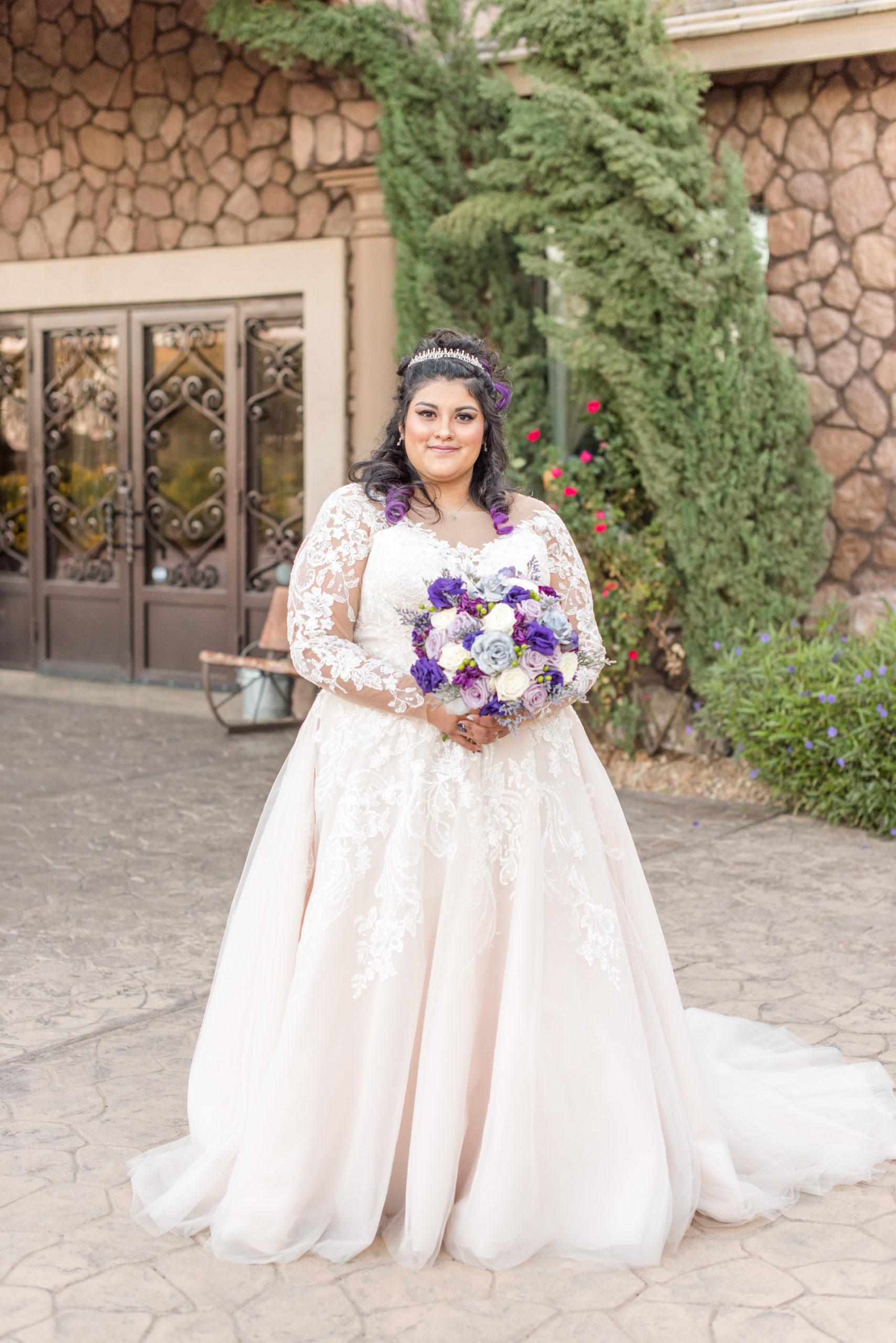 Anisa's Long Sleeve Ballgown Wedding Dress