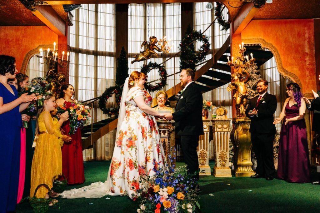 madonna-inn-wedding-ceremony-on-stage