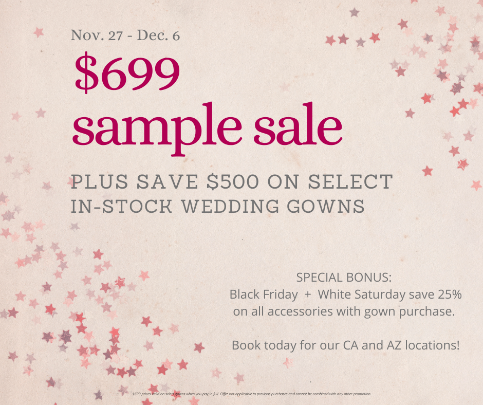 Black Friday Plus Size Wedding Dress Sample Sale