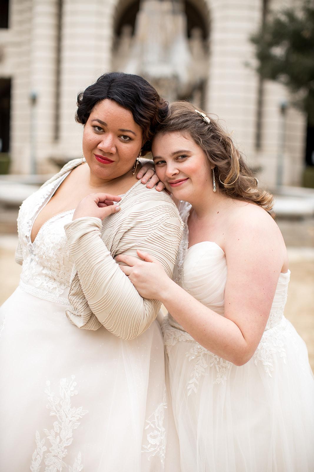 Beatrice & Indigo's Tulle Wedding Dresses