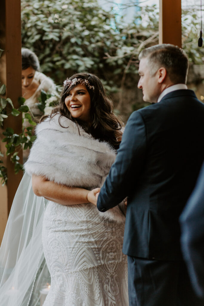 plus size bride getting married