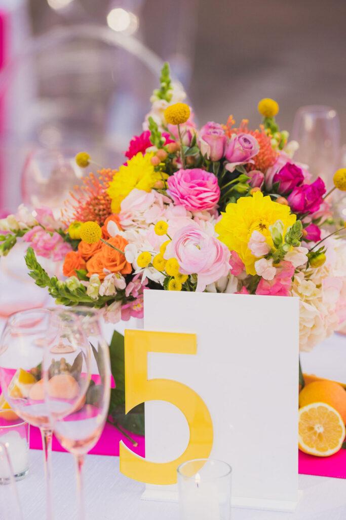 bright wedding flowers phoenix