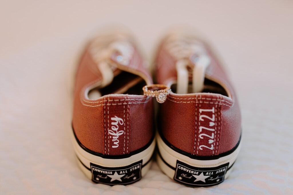 custom converse wedding shoes