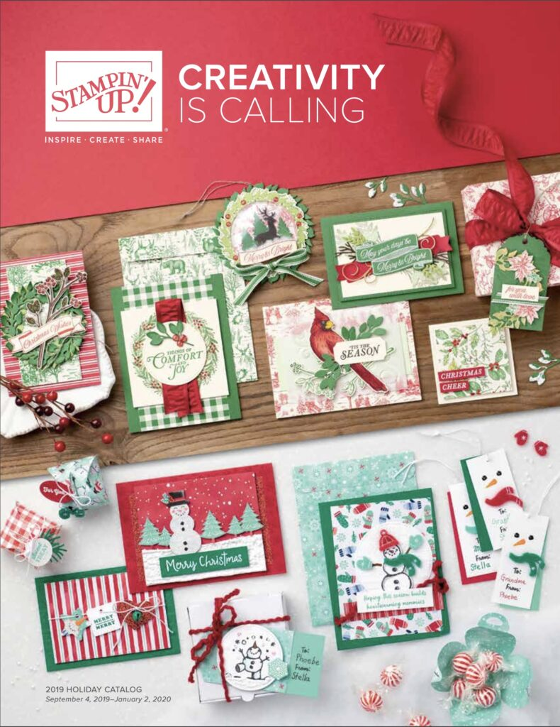 stampin up holiday catalog