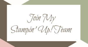 Join My Stampin Up Team in Jupiter, Fl