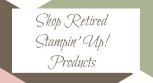 Shop retired stampin up stamps and products