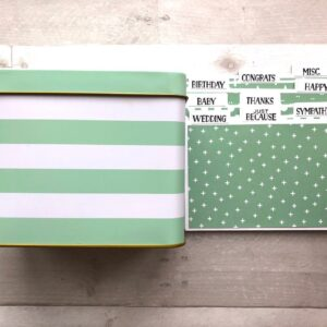 Stampin Up Retired Card Organizer Tin for Sale