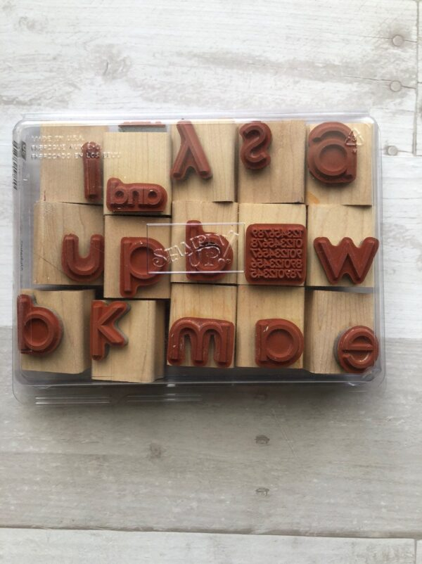 Stampin Up Retired Contempo Alphabet Set for Sale