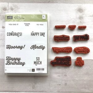 Stampin Up Retired Perfect Pairings Stamp Set for Sale