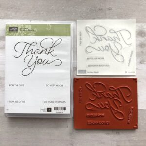 Stampin Up Retired So Very Much Stamp Set for Sale