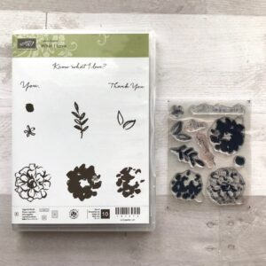 Stampin Up Retired What I Love Stamp Set for Sale