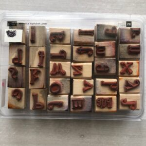 Stampin Up Retired Whimsical Alphabet Stamp Set for Sale