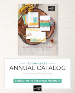Stampin Up 2020-21 Annual Catalog