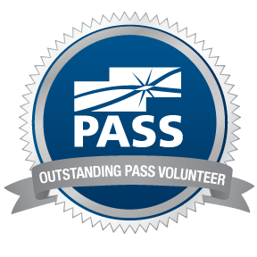 PASS Outstanding Volunteer Oct 2015