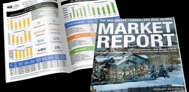 Vail Valley/Cordillera Real Estate Market Report YTD January 2020