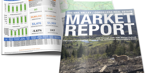 VAIL VALLEY/CORDILLERA REAL ESTATE MARKET REPORT JUNE 2020