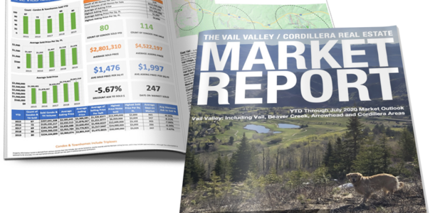 VAIL VALLEY/CORDILLERA REAL ESTATE MARKET REPORT JULY 2020