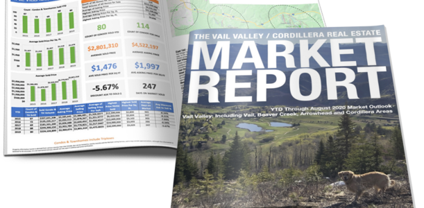 VAIL VALLEY/CORDILLERA REAL ESTATE MARKET REPORT AUGUST 2020
