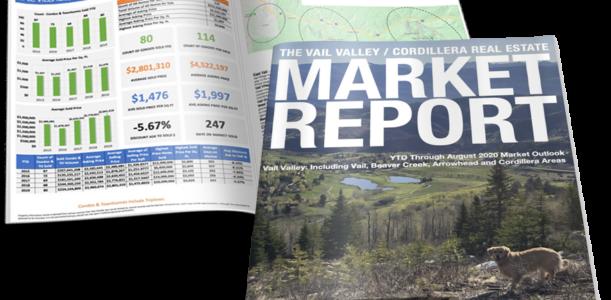VAIL VALLEY/CORDILLERA REAL ESTATE MARKET REPORT AUGUST 2020
