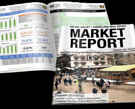 VAIL VALLEY/CORDILLERA REAL ESTATE MARKET REPORT JANUARY 2021