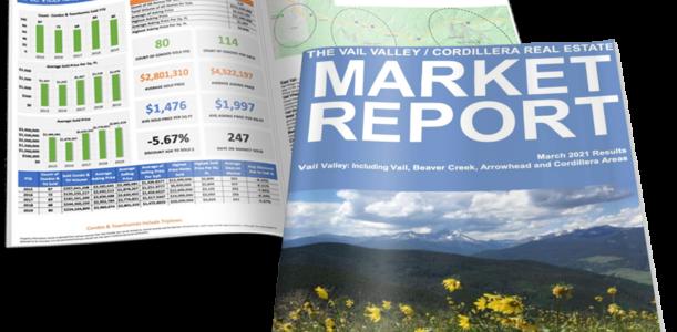 VAIL VALLEY/CORDILLERA REAL ESTATE MARKET REPORT MARCH 2021