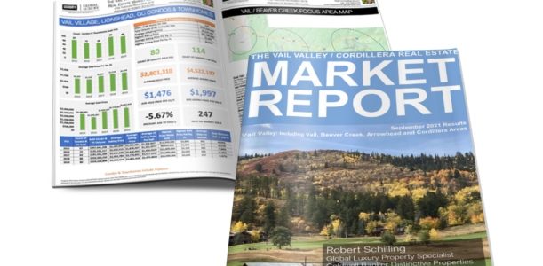 Vail Valley/Cordillera Real Estate Market Report September 2021