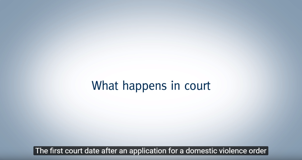 What happens in court?