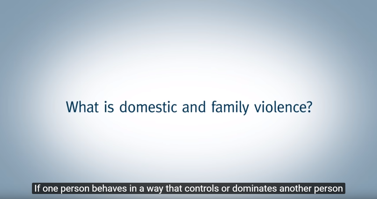 What is domestic and family violence?