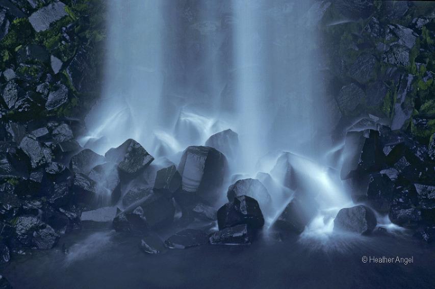 Svartifoss waterfall Iceland Skaftafell