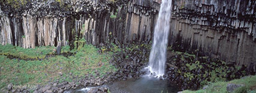 Svartifoss Iceland waterfall