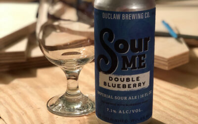 Duclaw Brewing Co. Sour Me Double Blueberry