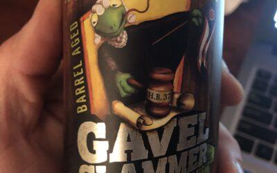 Hoppin' Frog Barrel Aged Gavel Slammer