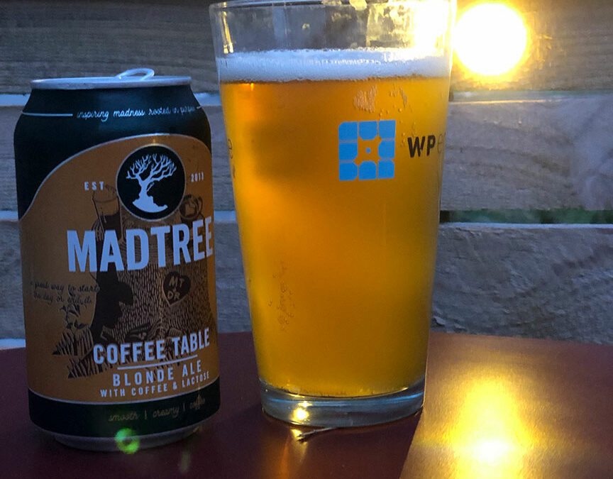 Mad Tree Coffee Table Blonde Ale