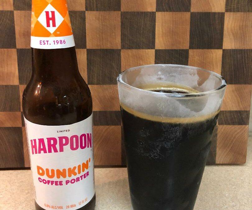 Harpoon Brewery – Dunkin' Coffee Porter