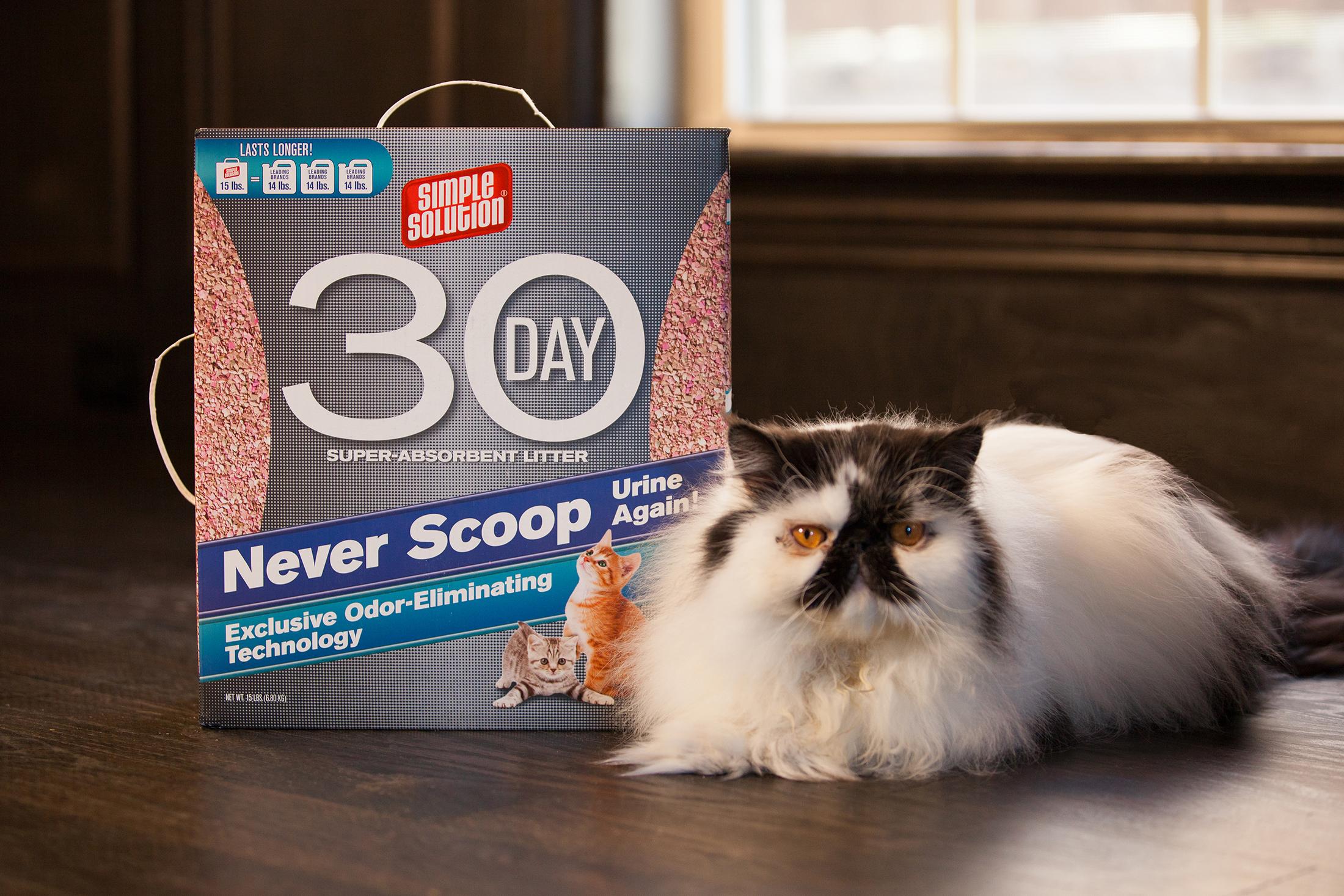 Simple Solution Cat Litter