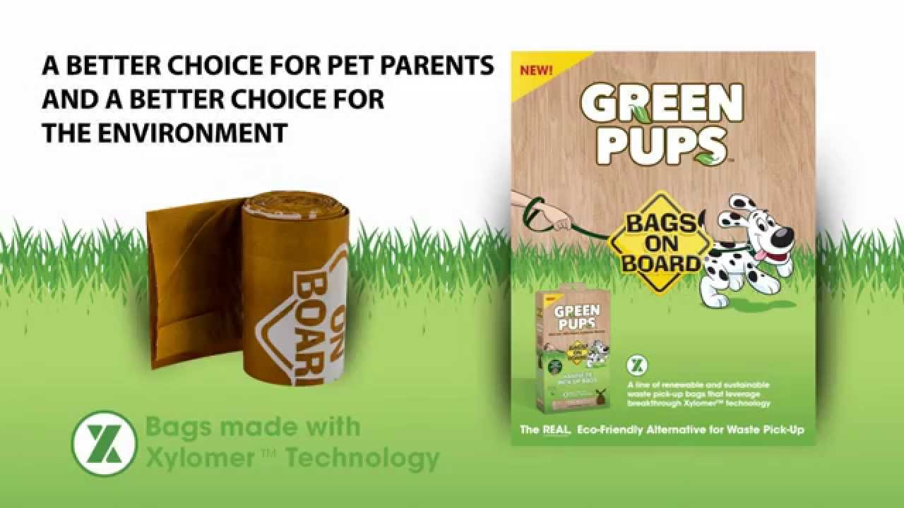 Green Pups by Bags on Board Global Pet Expo