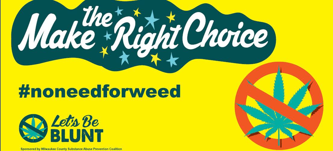 make the right choice billboard