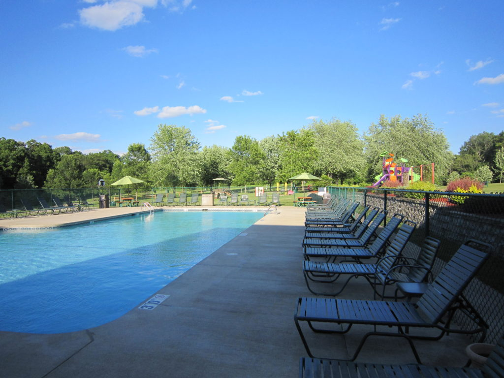 Pool at Silver Springs Campsites