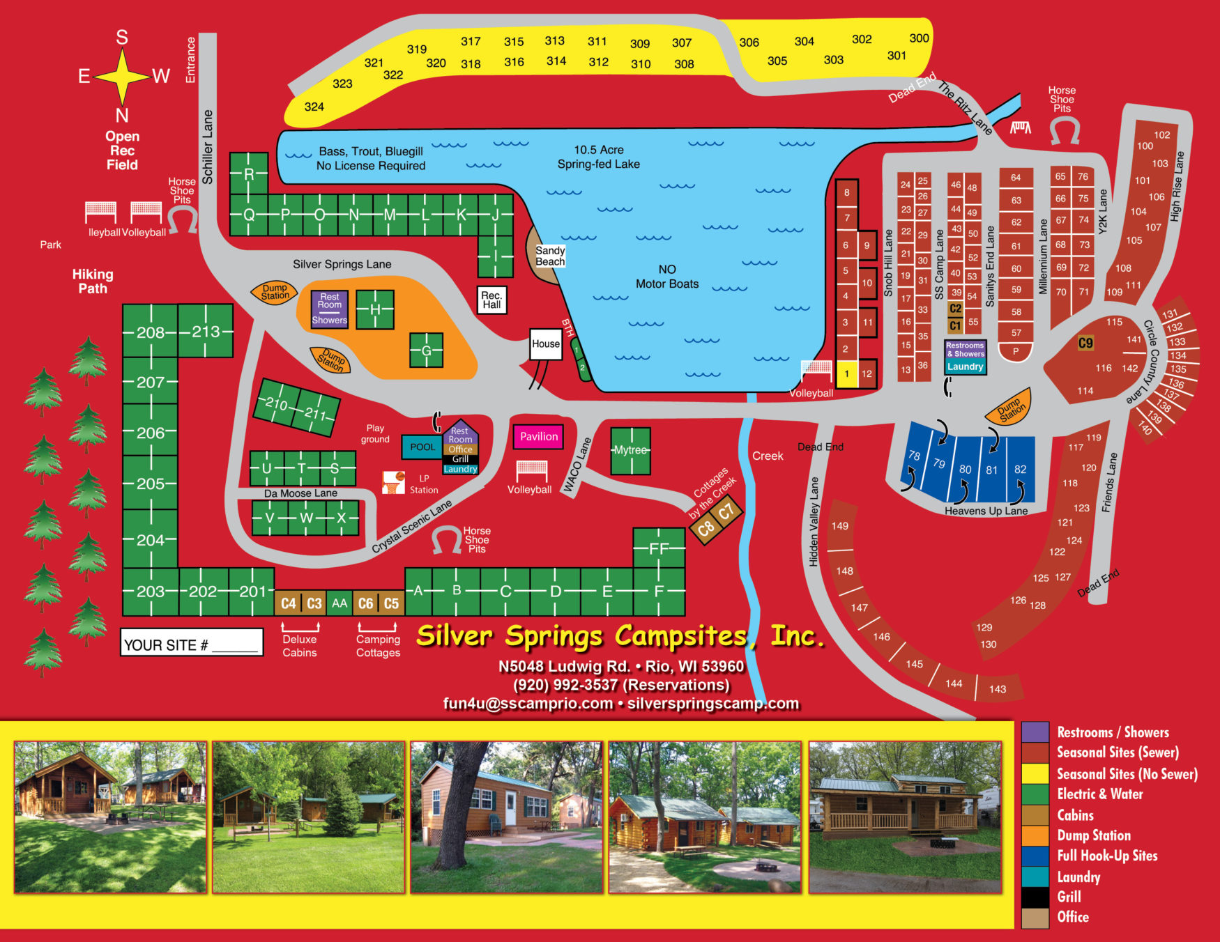 Silver Springs Map