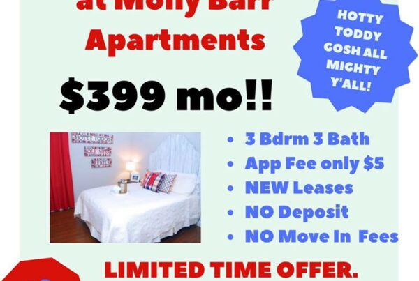 Special Offers – Molly Barr Trails