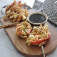 Korean Vegetable Fritters