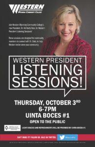 WWCC Listening Session Information