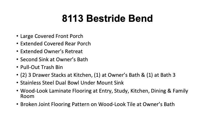 8113 Bestride Bnd, Austin, TX 78744