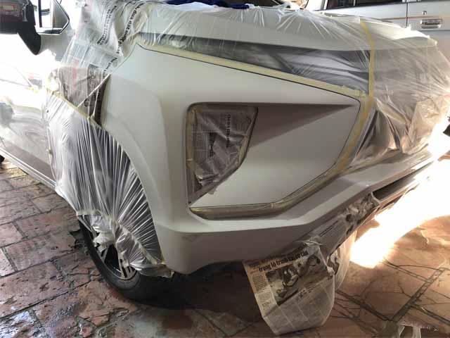 xử lý xe ô tô bị trầy xước