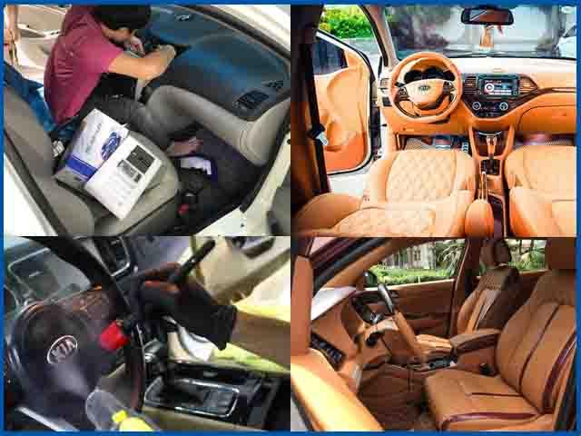 Vệ sinh nội thất xe hơi tốt nhất chất lượng nhất tại Sài Gòn