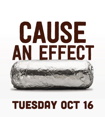 Chipotle Fundraiser – October 16
