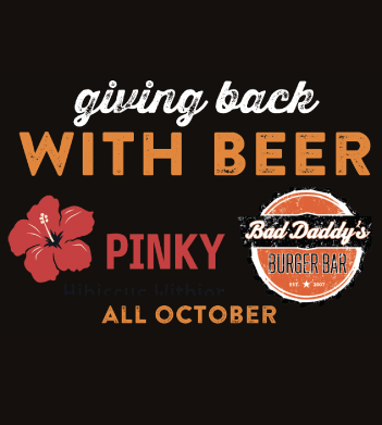 Giving Back with Beer – All October at Bad Daddy's