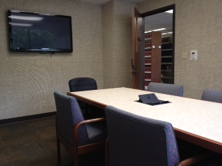 Law Library Study Room