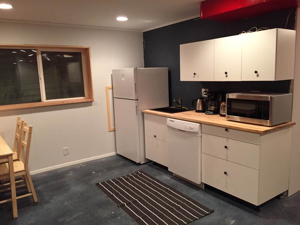 Brand New Basement Kitchenette